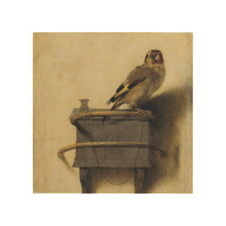 Carel Fabritius The Goldfinch Wood Canvas