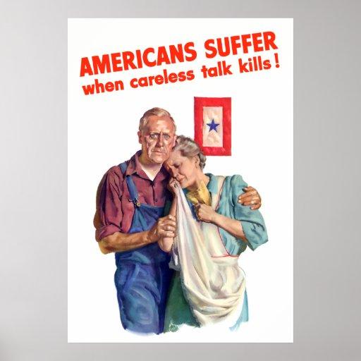 Careless Talk Kills Posters