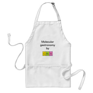 Caren periodic table name apron