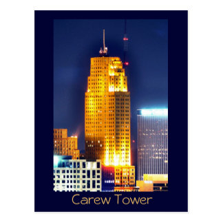 Carew Tower, Cincinnati, Ohio, U.S.A. Postcard