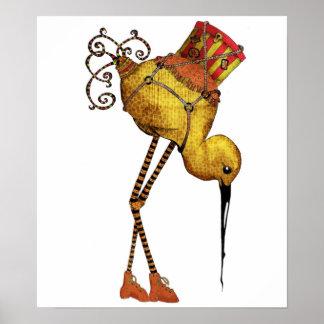 Cargo Bird Poster