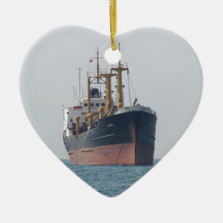 Cargo Ship A Asli Christmas Ornament