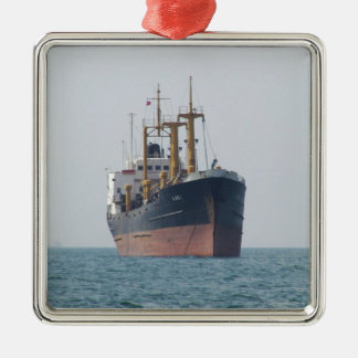Cargo Ship A Asli Christmas Ornament