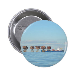 Cargo Ship And Forts Pins