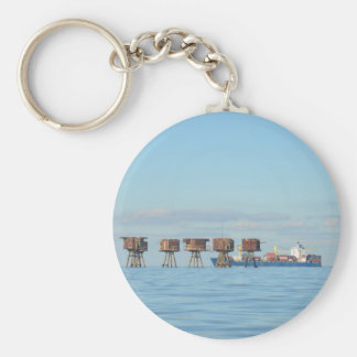 Cargo Ship And Forts Keychains