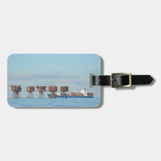 Cargo Ship And Forts Luggage Tags