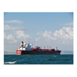 Cargo Ship Clipper Sky Post Card