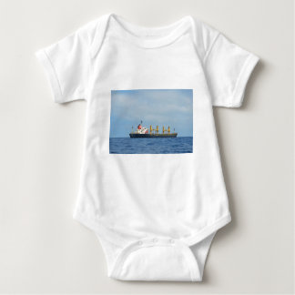 Cargo Ship Infinity Baby Bodysuit