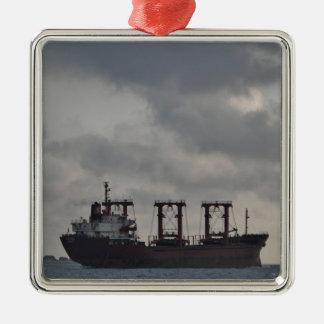 Cargo Ship TK Istanbul Christmas Ornament