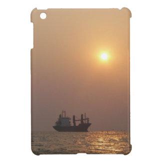 Cargo Ship Under A Hazy Sun iPad Mini Cover