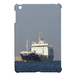 Cargo Ship Zephyros Entering Harbor iPad Mini Case