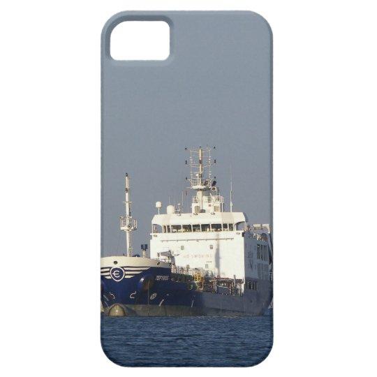 Cargo Ship Zephyros Entering Harbor iPhone 5 Case