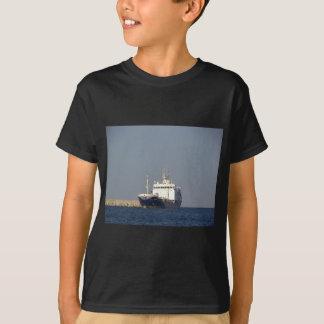 Cargo Ship Zephyros Entering Harbor T-Shirt