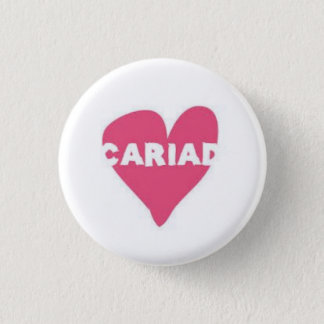 Cariad Button Badge