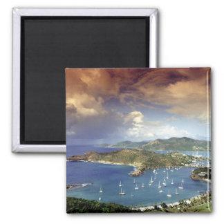 Caribbean, Antigua. Square Magnet