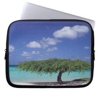 Caribbean, Aruba. Eagle Beach Laptop Sleeve