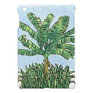 Caribbean banana tree iPad mini covers
