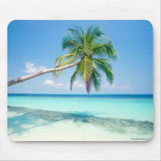 caribbean beach mouse mat
