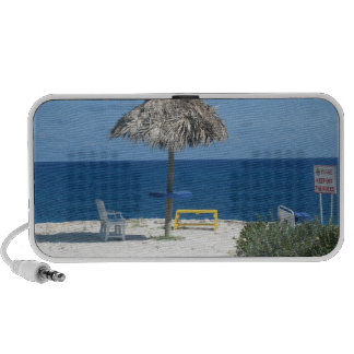 Caribbean beach notebook speakers