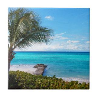 Caribbean Beach Ceramic Tile