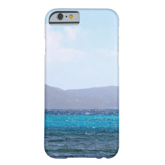 Caribbean Blue Barely There iPhone 6 Case