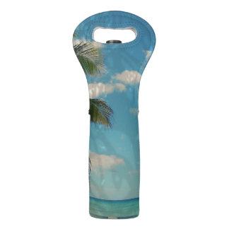 Caribbean Blue Wine Bag