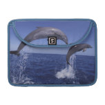 Caribbean, Bottlenose dolphins Tursiops 7 MacBook Pro Sleeves