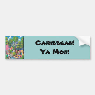 Caribbean! Bumper Sticker