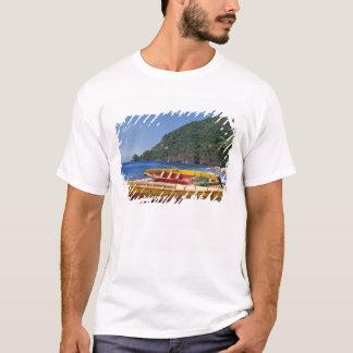 Caribbean, BWI, St. Lucia, Sailboats, Soufriere. T-Shirt