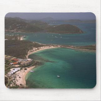 Caribbean Coastline Mouse Pad