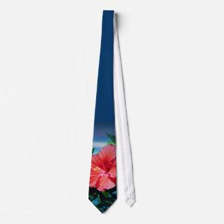 Caribbean flower tie