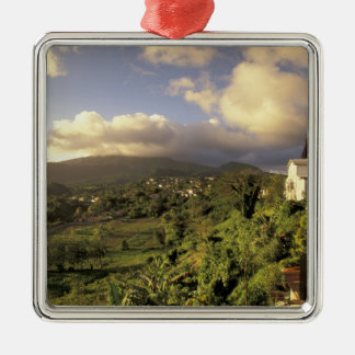 Caribbean, French West Indies, Martinique. Christmas Ornament