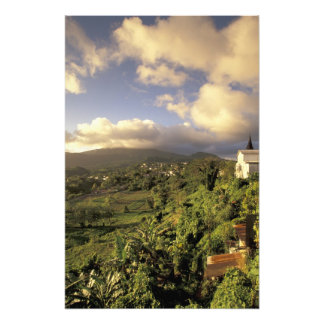 Caribbean, French West Indies, Martinique. Photo Print