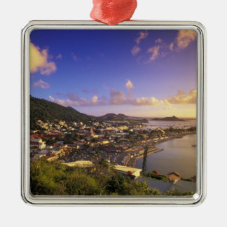 Caribbean, French West Indies, St. Martin. Christmas Ornament