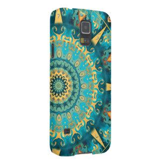 Caribbean Gold Mandala Phone Case