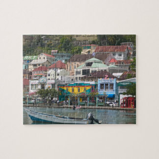 Caribbean, GRENADA, St. George's, St. George's Jigsaw Puzzle