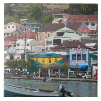 Caribbean, GRENADA, St. George's, St. George's Large Square Tile