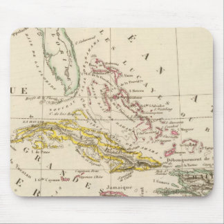 Caribbean, Gulf of Mexico and Guatemala Mouse Mat