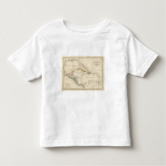 Caribbean, Gulf of Mexico and Guatemala Toddler T-Shirt
