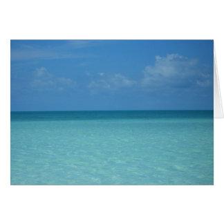 Caribbean Horizon Card