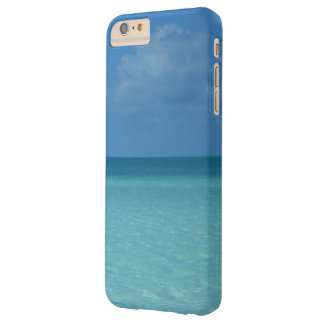 Caribbean Horizon Tropical Turquoise Blue Barely There iPhone 6 Plus Case