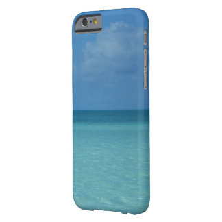 Caribbean Horizon Tropical Turquoise Blue Barely There iPhone 6 Case