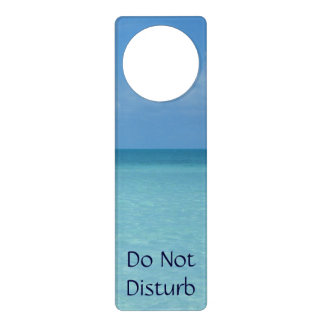 Caribbean Horizon Tropical Turquoise Blue Door Knob Hangers