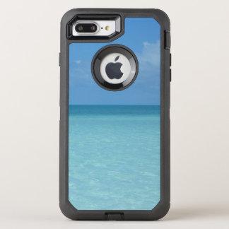 Caribbean Horizon Tropical Turquoise Blue OtterBox Defender iPhone 7 Plus Case