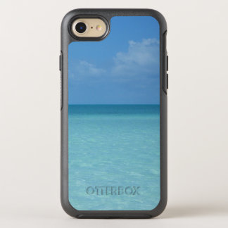 Caribbean Horizon Tropical Turquoise Blue OtterBox Symmetry iPhone 8/7 Case