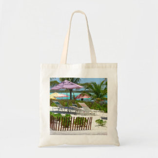 Caribbean Island Beach Scene