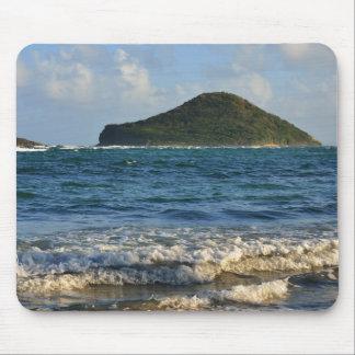 Caribbean Island Mousemat