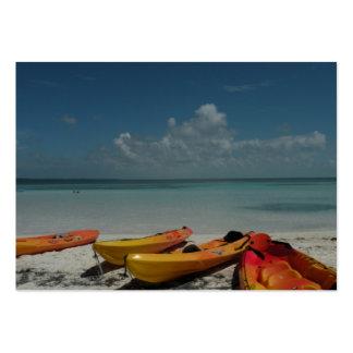 Caribbean Kayaks ATC Card Pack Of Chubby Business Cards