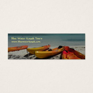 Caribbean Kayaks Business Card