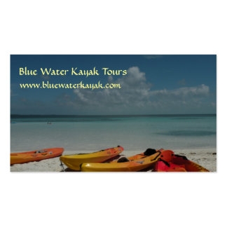 Caribbean Kayaks Business Card